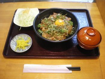 国産ロース豚丼